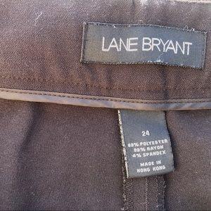 Lane Bryant Pants & Jumpsuits - Lane Bryant belted dressy capris women's sz 24